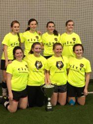 HS girls 2016 Futsal team