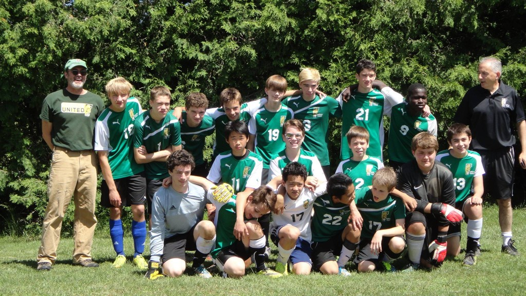 U14 2015 Essex Tournament 2nd place champs